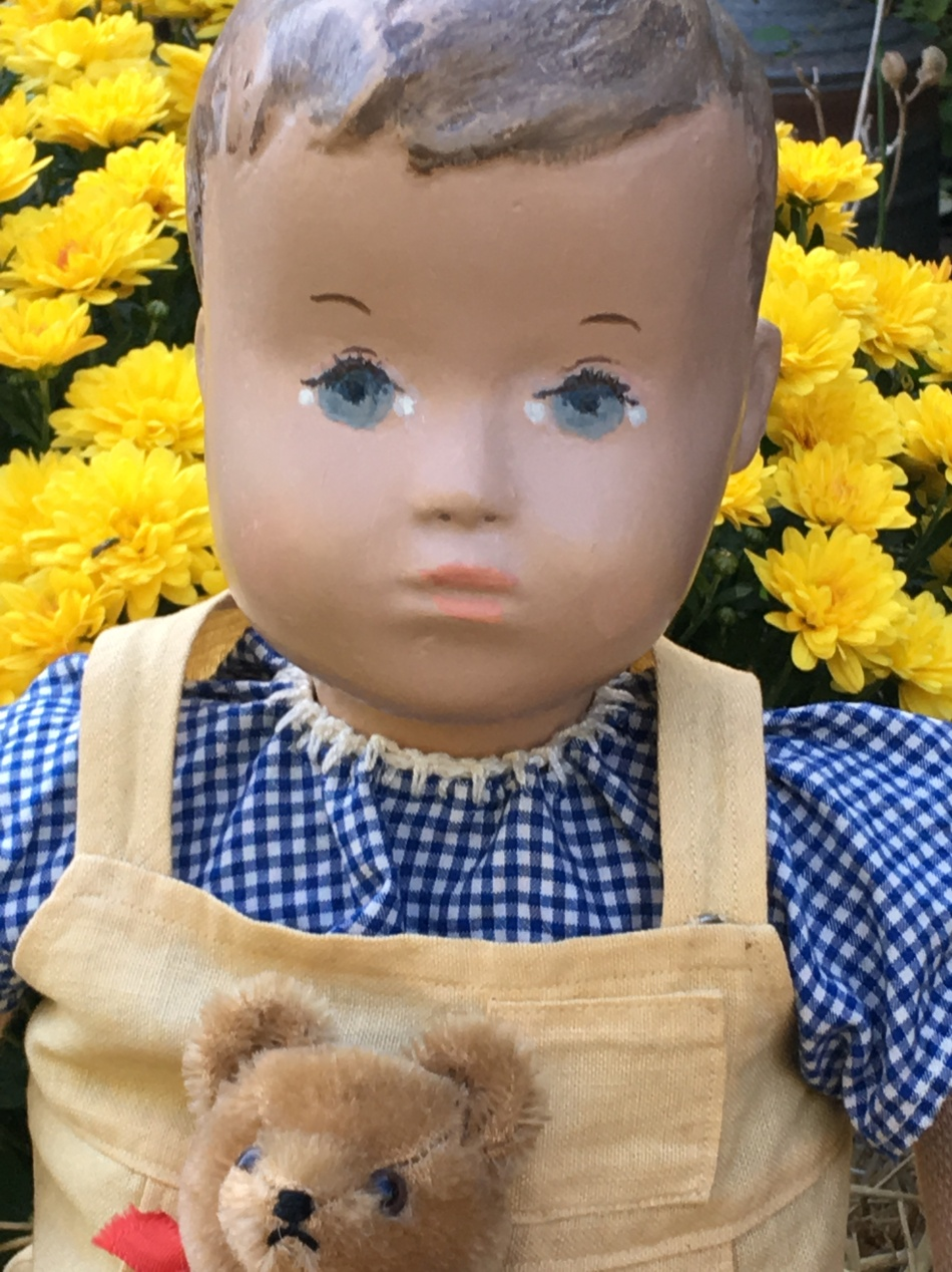 Bertie Karli, a molded head studio boy