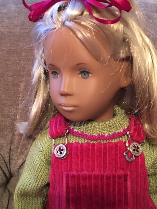 Clare, 1968 Fringe girl