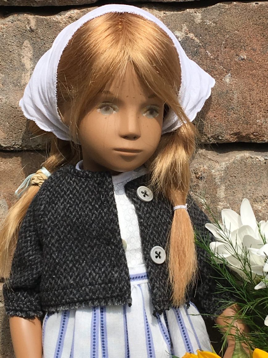 Sunny, a Farm Girl repaint by a Janet Myhill-Dabbs