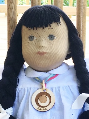 Megan, Charity doll